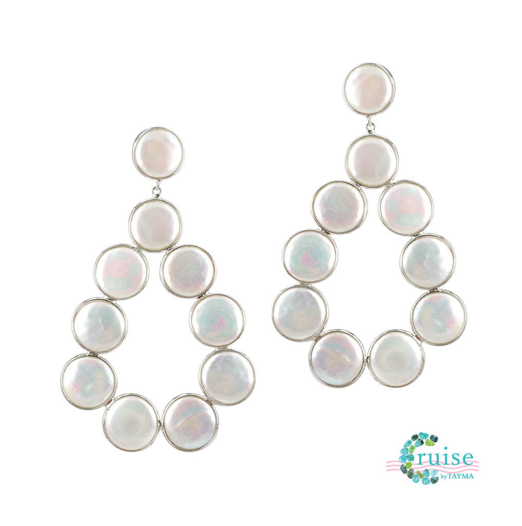 Penny Pearl Earrings
