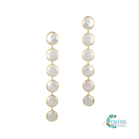 Penny Pearl Dangly Earrings