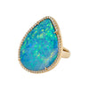 Floating Islands Collection - Opal and diamond ring