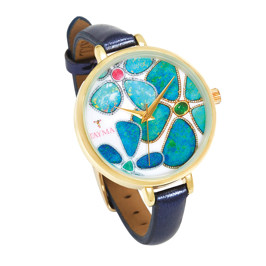 TAYMA Floating Islands limited edition watch - Navy