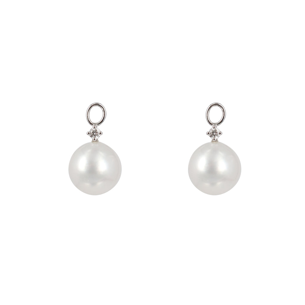 South Sea Pearl Diamond drops