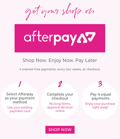 WE NOW HAVE AFTERPAY AND PAYPAL💗