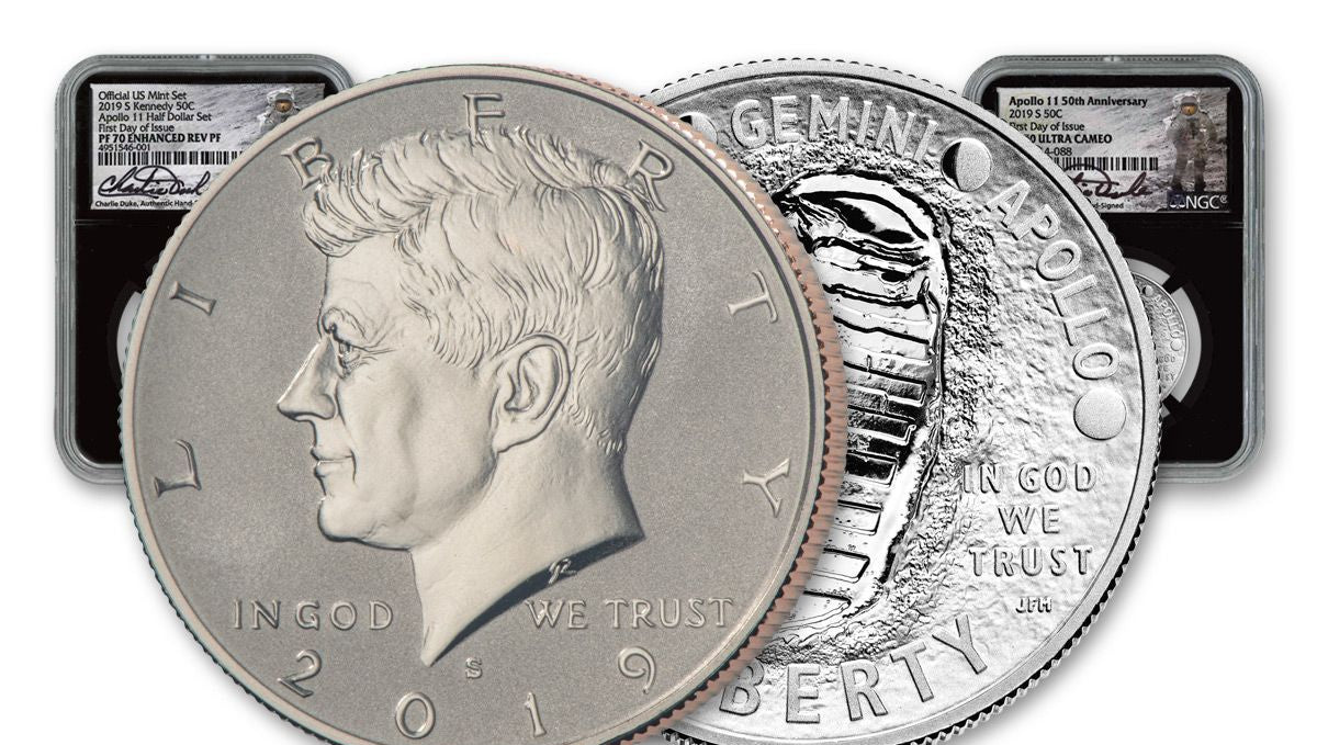 2019 S Clad Kennedy Half Dollar First Releases NGC PF70 Ultra Cameo Smiling