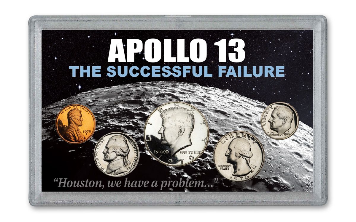 1970 Apollo 13 Proof Set - Proof Coins from the Year of NASA's Successful Failure