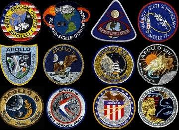 Apollo Missions Patch Set