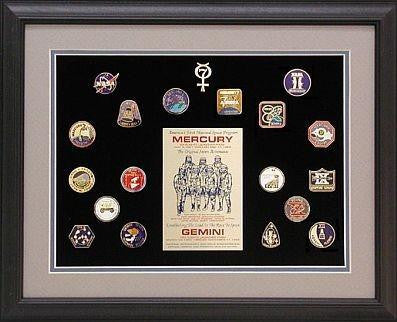 A NICE PIN SET TO OWN: Mercury & Gemini Missions Pin Set