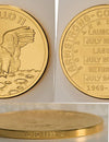 Apollo 11 Robbins Commemorative 50th Anniversary Collection 1/2oz Gold Matte Proof Medallion