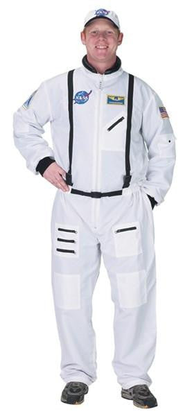 Astronaut Costume (White) - Adult