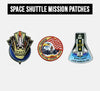SPACE SHUTTLE MISSION PATCHES
