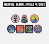 MERCURY, GEMINI, and APOLLO PATCHES