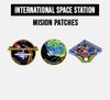 INTERNATIONAL SPACE STATION MISSION PATCHES