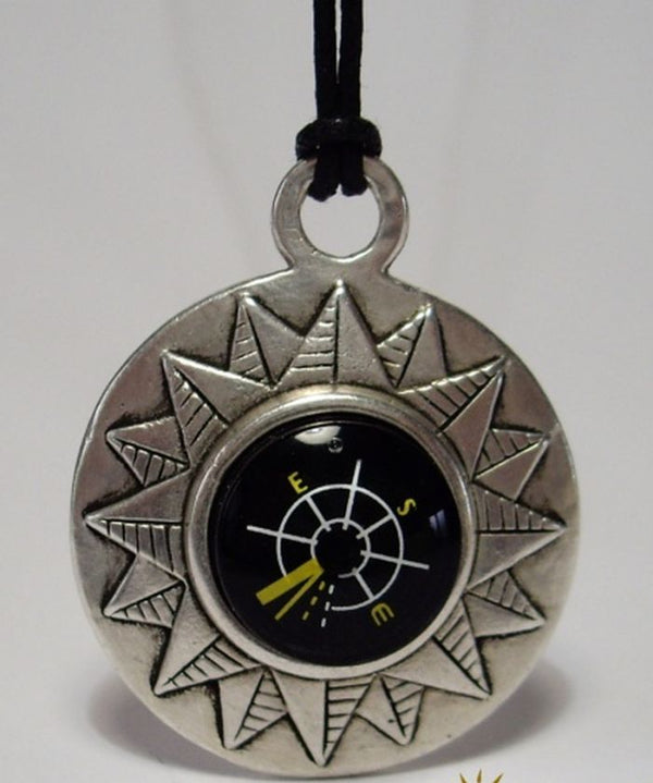 COMPASS WINDROSE PENDANT - The Space Store