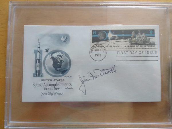 Jim McDivitt Signed First Day of Issue Cover - The Space Store