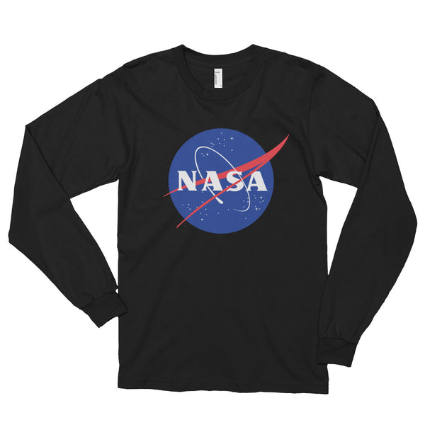 NASA 'MEATBALL'  LONGSLEEVE T SHIRT (adult) - The Space Store