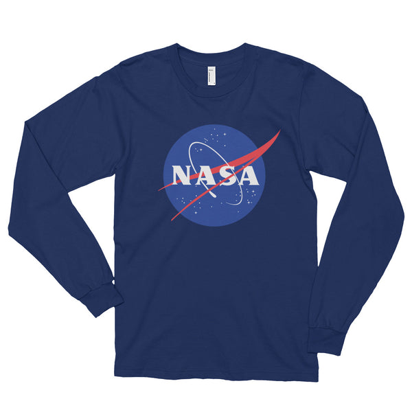 NASA 'MEATBALL'  LONGSLEEVE T SHIRT (adult)
