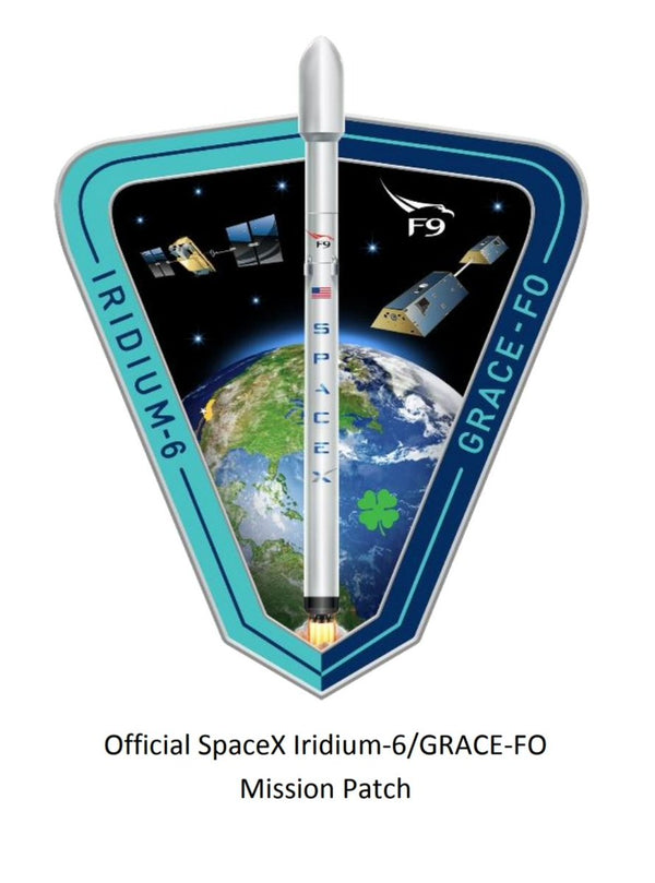 SPACEX IRIDIUM 6 MISSION PATCH - The Space Store