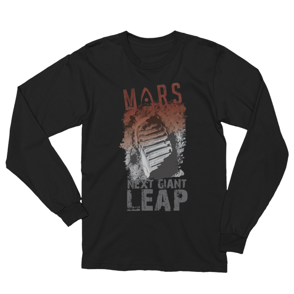 MARS - 'NEXT' GIANT LEAP'  in Adult Long Sleeve