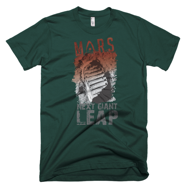 MARS - 'NEXT GIANT LEAP' - Adult Short Sleeve - The Space Store