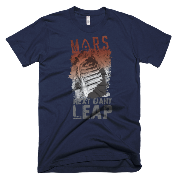 MARS - 'NEXT GIANT LEAP' - Adult Short Sleeve