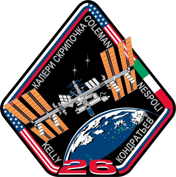Expedition 26 Mission Sticker - The Space Store