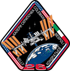 Expedition 26 Mission Sticker