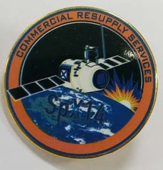 SPACEX CRS-14 MISSION LAPEL PIN