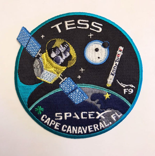 SPACEX TESS MISSION PATCH - The Space Store