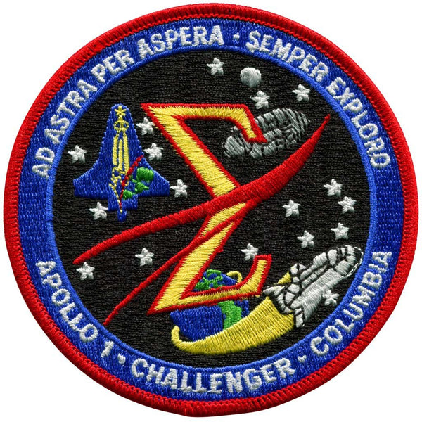 Spaceflight' Memorial Patch - The Space Store