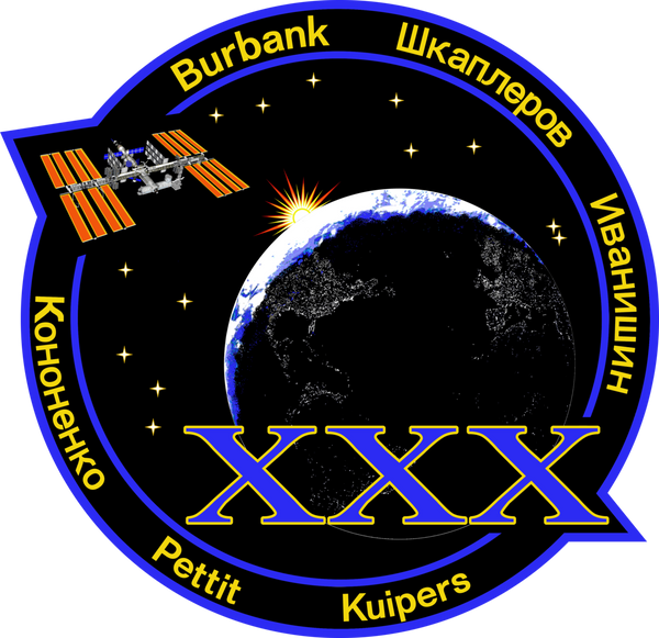 Expedition 30 Mission Sticker - The Space Store