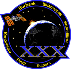 Expedition 30 Mission Sticker
