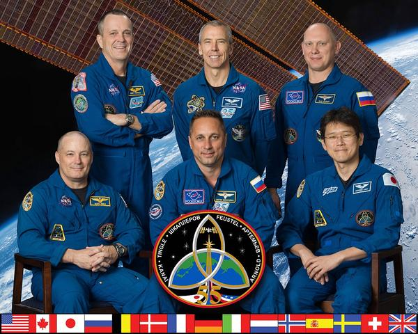 EXPEDITION 55 MISSION PATCH