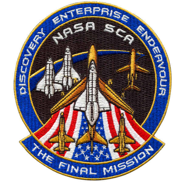 The Final Mission' Patch - The Space Store