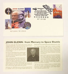 John Glenn Return to Space Cover STS-95
