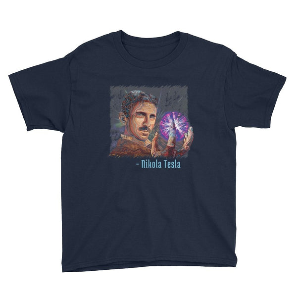 NIKOLA TESLA YOUTH T-SHIRT - The Space Store