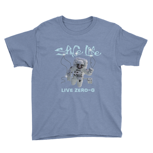 SPACE LIFE - LIVE ZERO-G in Youth Sizing 6 to 14 years