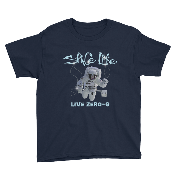 SPACE LIFE - LIVE ZERO-G in Youth Sizing 6 to 14 years - The Space Store