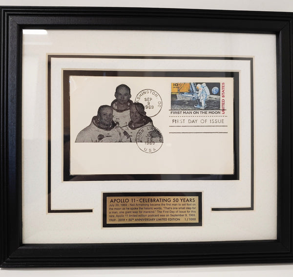 Apollo First Man Postcard Frame from Winco