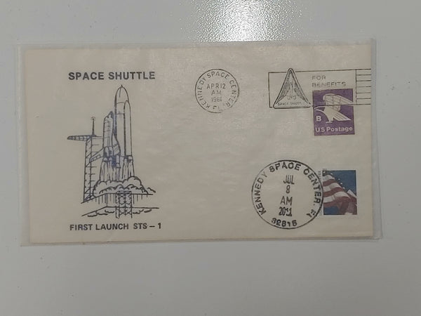 Space Shuttle First Launch STS -1 Cover