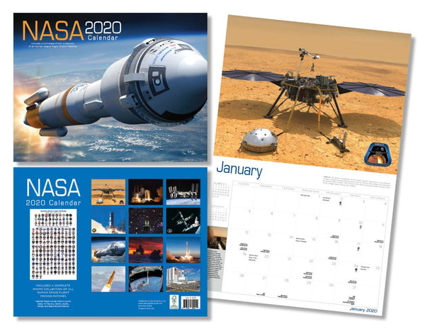 NASA 2020 CALENDAR - The Space Store