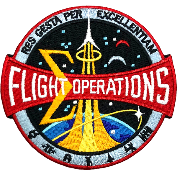 Flight Operations Patch (2014) - The Space Store