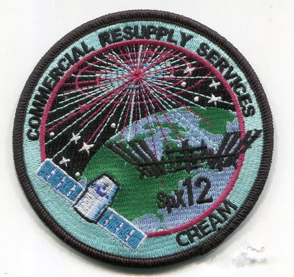SpaceX CRS 12 SPX Mission Patch - The Space Store