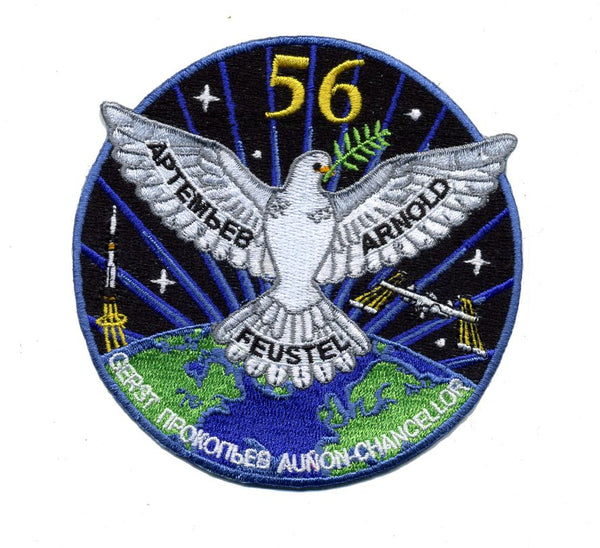 EXPEDITION 56 MISSION PATCH