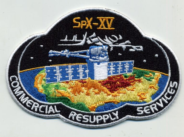 SPACEX SPX 15 MISSION PATCH