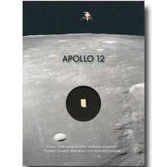 APOLLO 12 FLOWN CHECKLIST SEGMENT