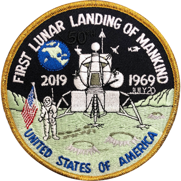 Apollo 'First Landing'  50th Anniversary Edition - The Space Store