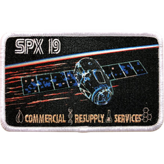 CRS SpaceX 19 Mission Patch