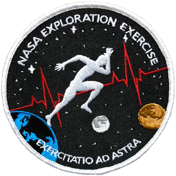 NASA Exploration Exercise Patch - The Space Store
