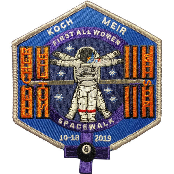 First All Women Spacewalk Commemorative Patch - The Space Store