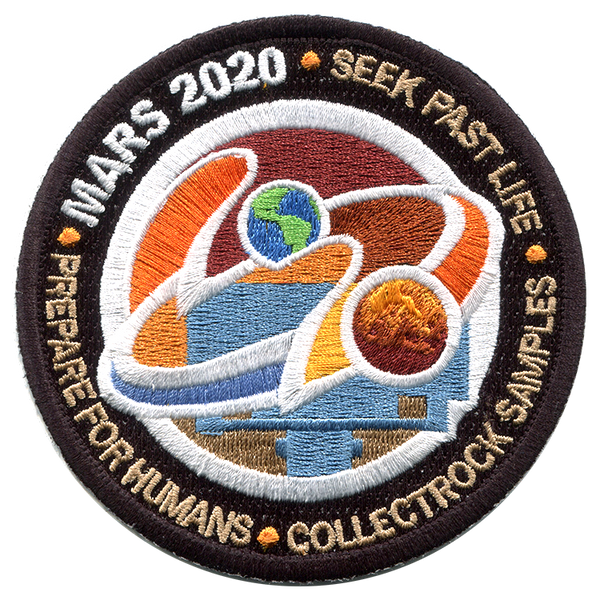 NASA MARS 2020 Perseverance Rover - Exploration Program Mission Patch