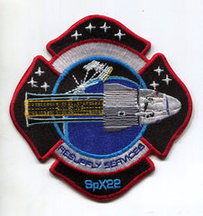 NASA SpaceX CRS 22 Mission Patch